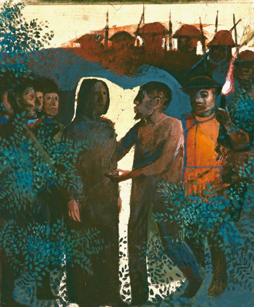 Arcabas (Jean-Marie Pirot), La trahison de Judas, 1986