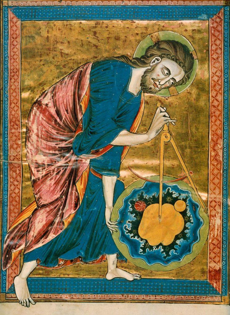 Από χειρόγραφο της Βίβλου του 12ου αιώνα (Κώδικας Vindobonensis 2554)