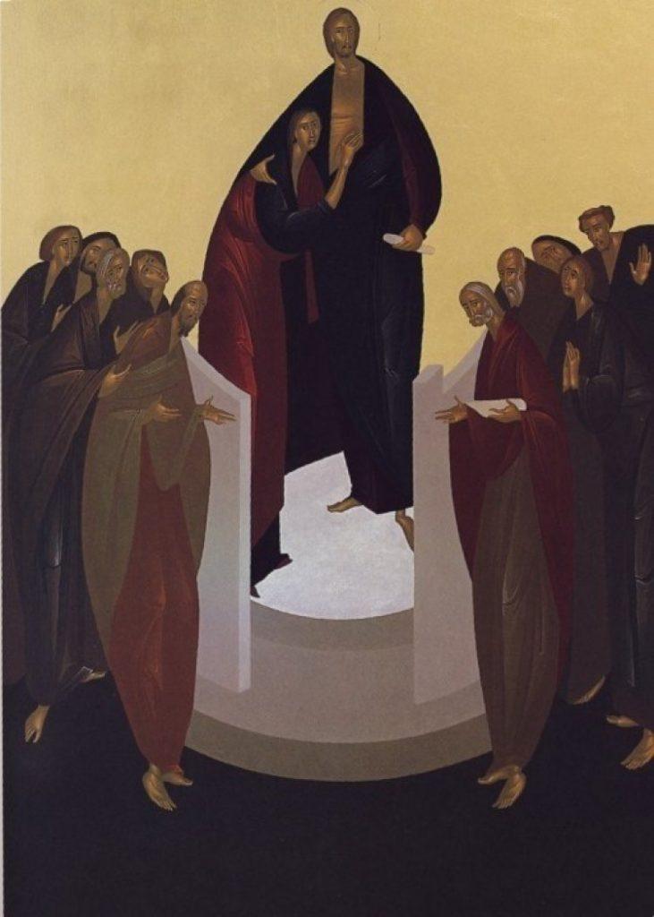 Αγιογραφία του Μιχαήλ Βασιλάκη «Βάλε τον δάκτυλόν σου εις τον τύπον των ήλων…»